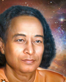Paramhansa Yogananda Photo - Cosmic Gaze - 4x6