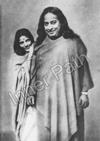 Paramhansa Yogananda and Anandamayi Ma Photo - 8x10
