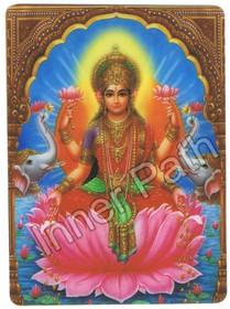 Lakshmi Picture - Lakshmi - 5x7 Laminated