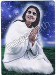 "Anandamayi Ma Photo - In the Stars - 4"" Card"