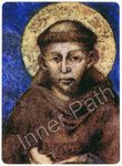 "St. Francis Picture - St. Francis of Assisi - 4"" Card"