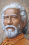 Swami Sri Yukteswar Photo - Close Up - Magnet