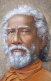 Swami Sri Yukteswar Photo - Close Up - Wallet Altar
