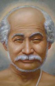 Lahiri Mahasaya Picture - Portrait - Wallet Altar