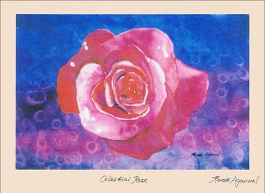 Celestial Rose - Card