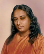 Paramahansa Yogananda - the cover photo in color from the Autobiography of a Yogi.