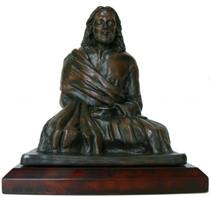 "Jesus Meditating Statue - 9"""