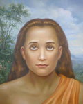Mahavatar Babaji Picture - In Nature - 11x14