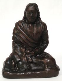 "Statue - Jesus Meditating - 3"""
