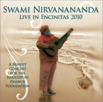 Swami Nirvanananda Live in Encinitas 2010 CD