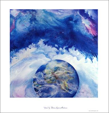 """Gaia - Poster 19.5"""" x 18.5"""""""