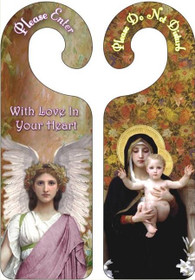 Mary with Infant Jesus / Angel
