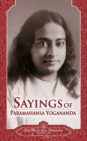 Sayings of Paramahansa Yogananda - Hardback