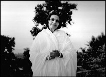 "Anandamayi Ma Photo - ""Tree Halo"""