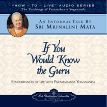 If You Would Know the Guru CD