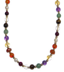 Navaratna Necklace 19""