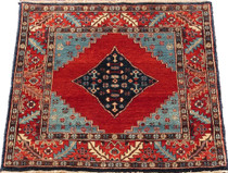 Meditation Mat - Wool - India Bijar