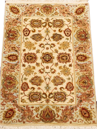Meditation Mat - Wool - India Sultanabad
