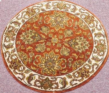 Meditation Mat - Wool - India Oushak