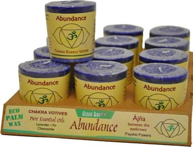 Chakra Votive - Abundance