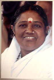 amma-smiling in white