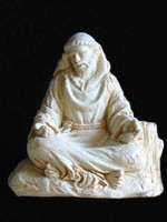 Statue - St. Francis Meditating - Large