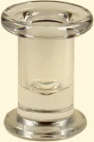 Modern Glass Taper Holder