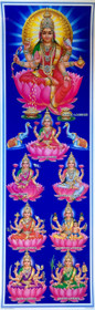 8 Forms of Lakshmi - Poster