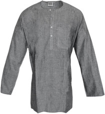 Men's Kurta - Long Sleeve Ash (Gray)