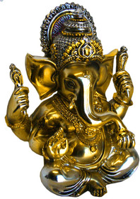 Statue - Ganesh - Metallic