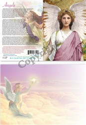 Angels - Greeting Card