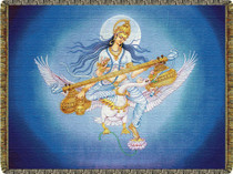 Saraswati Tapestry Throw