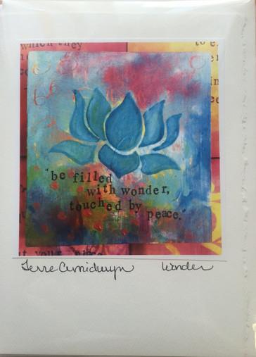 Wonder - Greeting Card