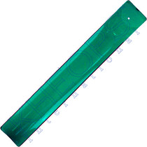 Green Art Glass Incense Holder