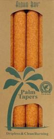 Aloha Bay orange palm wax taper candles