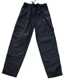 Yogi Pants - Black Cotton