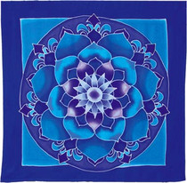 Night Lotus Wall Hanging