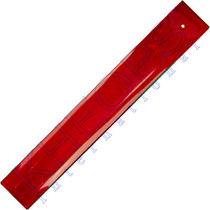 Ruby Art Glass Incense Holder