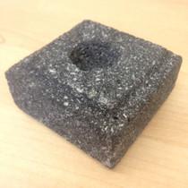 Taper Candle Holder - Lava Stone