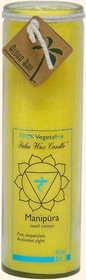 Chakra Jar Unscented Candle - Manipura (Yellow)