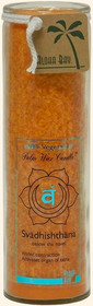 Chakra Jar Unscented Candle - Svadhishthana (Orange)