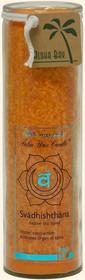 Chakra Jar Unscented Candle - Svadhishthana (Orange)