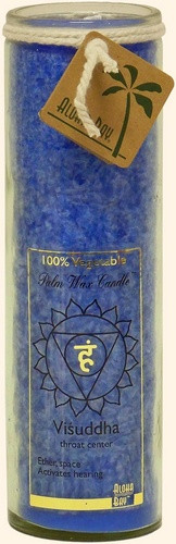 Chakra Jar Unscented Candle - Visuddha (Blue)