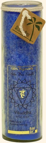 Chakra Jar Unscented Candle - Visuddha (Blue)