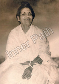 Anandamayi Ma Photo - Laughing - Black and White 5x7