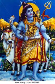 Shiva & Nandi - Poster