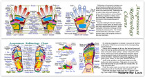 Acupressure Reflexology Bookmark