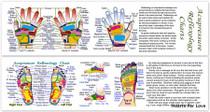 Acupressure Reflexology Bookmark