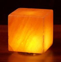 Himalayan Salt Cube Lamp