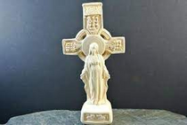 Statue - Mary Cross - Large
